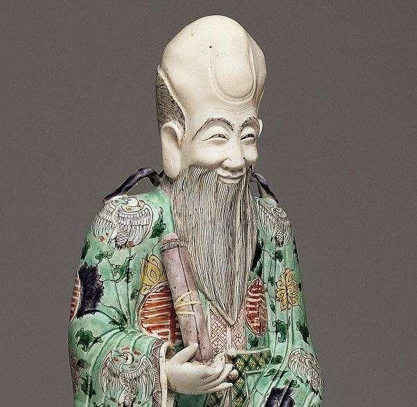 18th C. Chinese Kangxi Shou Loa