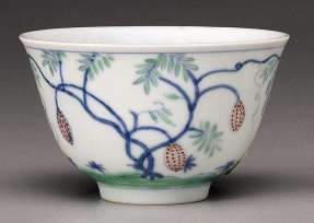 Chinese Yongzheng Doucai Enamel Bowl