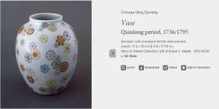 Qianlong Period Famille Rose vase