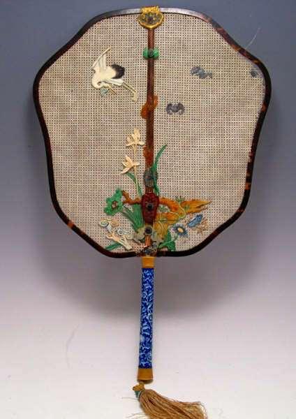 18th C. Imperial Qianlong Court Fan