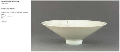 Northern Song Qingbai Bowl