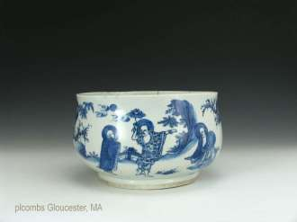 Chinese Transitional Period Luohan Bowl