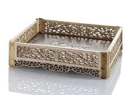 Ivory Carved Paper tray