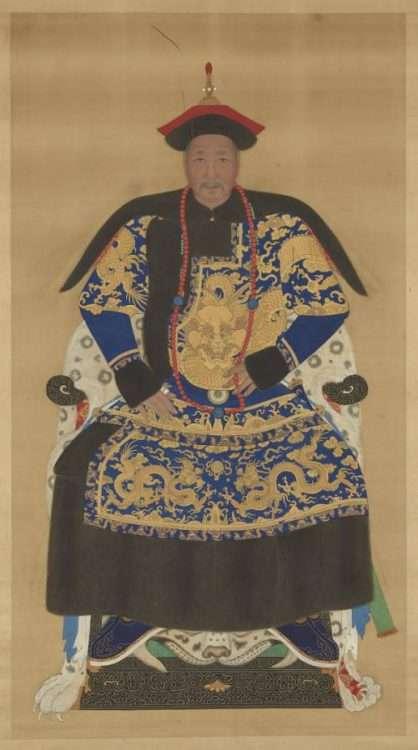 Qing Shifu Robe