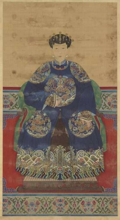 Silk Court Robe