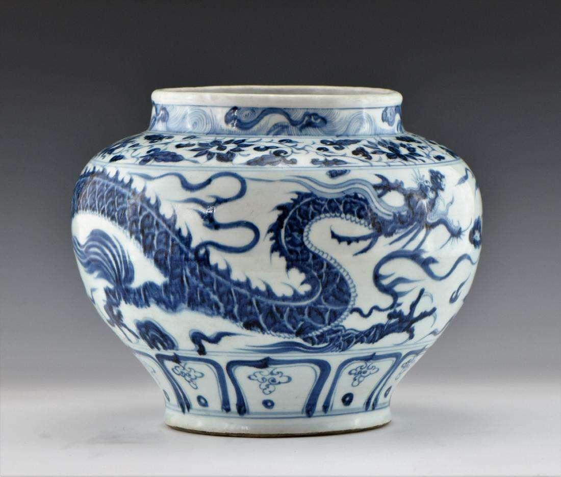 eden gallery modern copy yuan jar