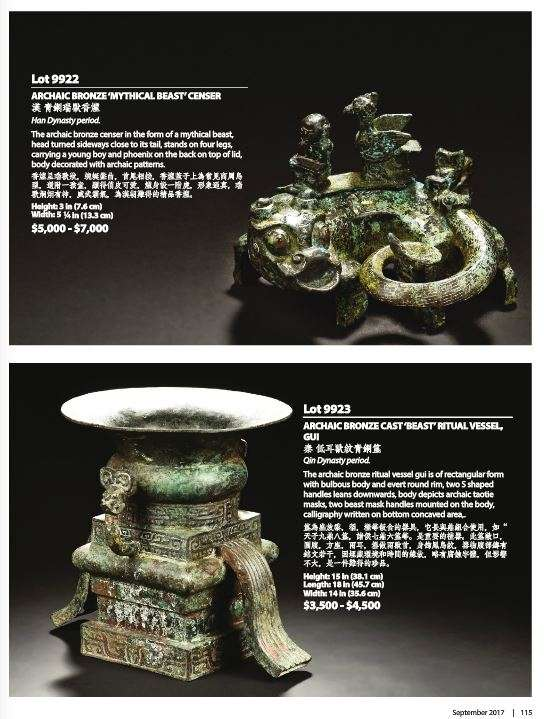 Fake early Chinese bronzes