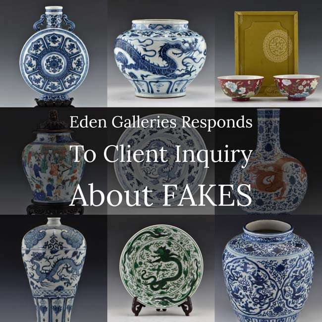 Eden Gallery Auctioneers Defends Auction of Fakes