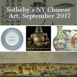 Sothebys Auctions of Chinese Art This September | News