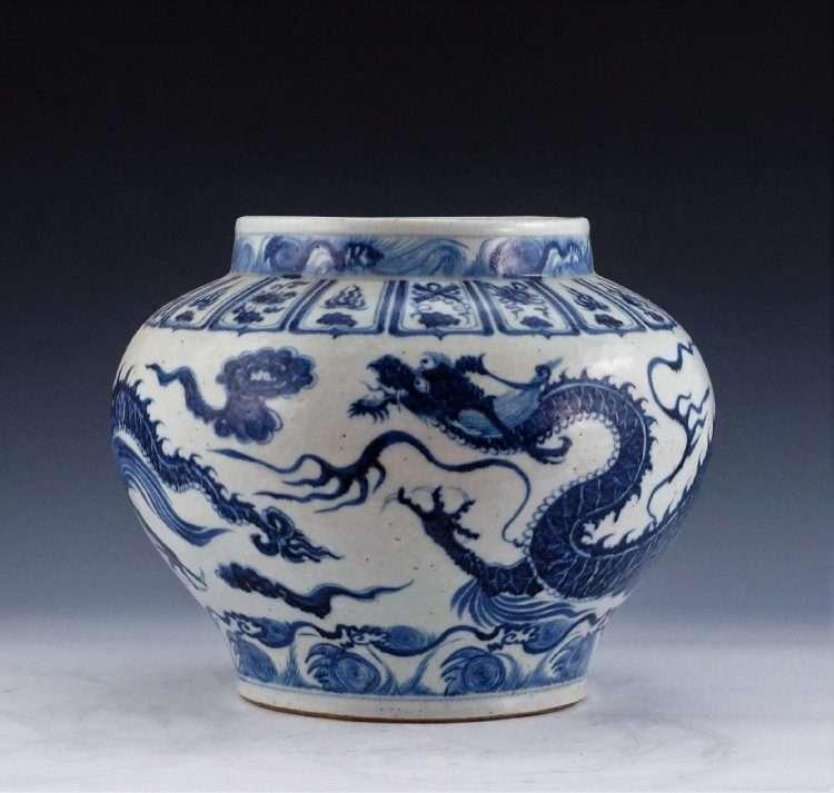 reproduction Yuan Dragon Jar Eden gallery