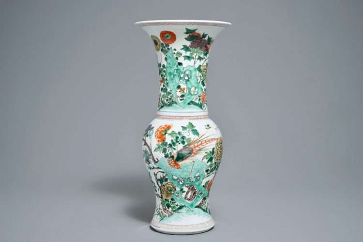 Kangxi Yen Yen vase