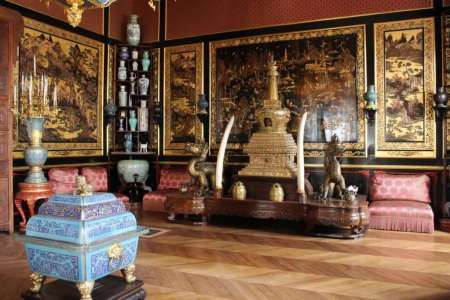 stolen chinese art in france