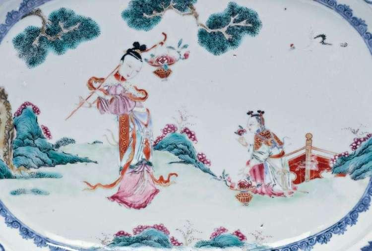 18th C. Chinese export plattter