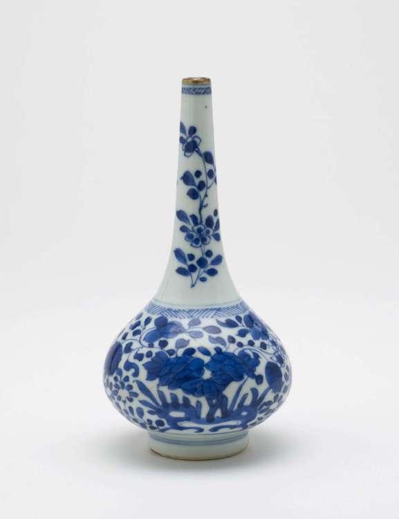 Kangxi rose water vase