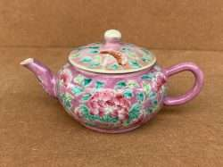 nyonya straights tea pot