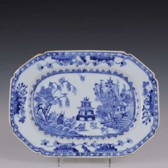 18th chinese export platter