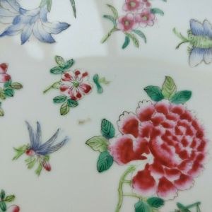 Chinese Famille Rose Plate 18th Century
