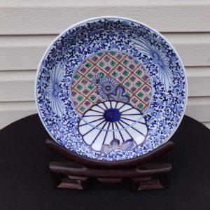 Japanese Plate of Nabeshima style Hizen (Arita) ware