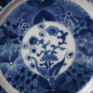 Chinese Porcelain Plate – Kangxi period (1662-1722) Marked