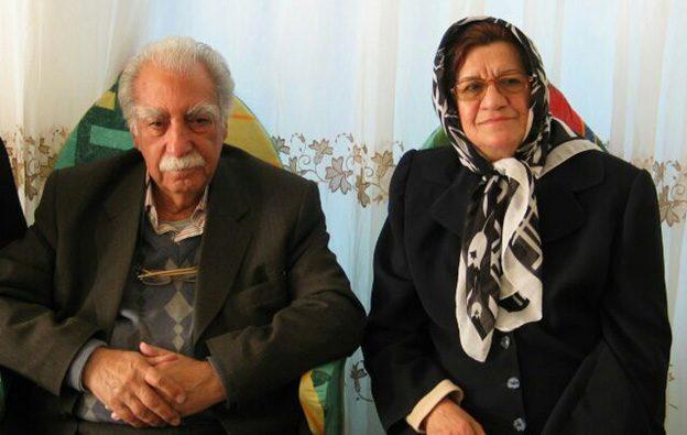 خانم نشاط وثوقی و آقای دکتر محمد حسین مبین، ۱۳۸۴، روز ماما