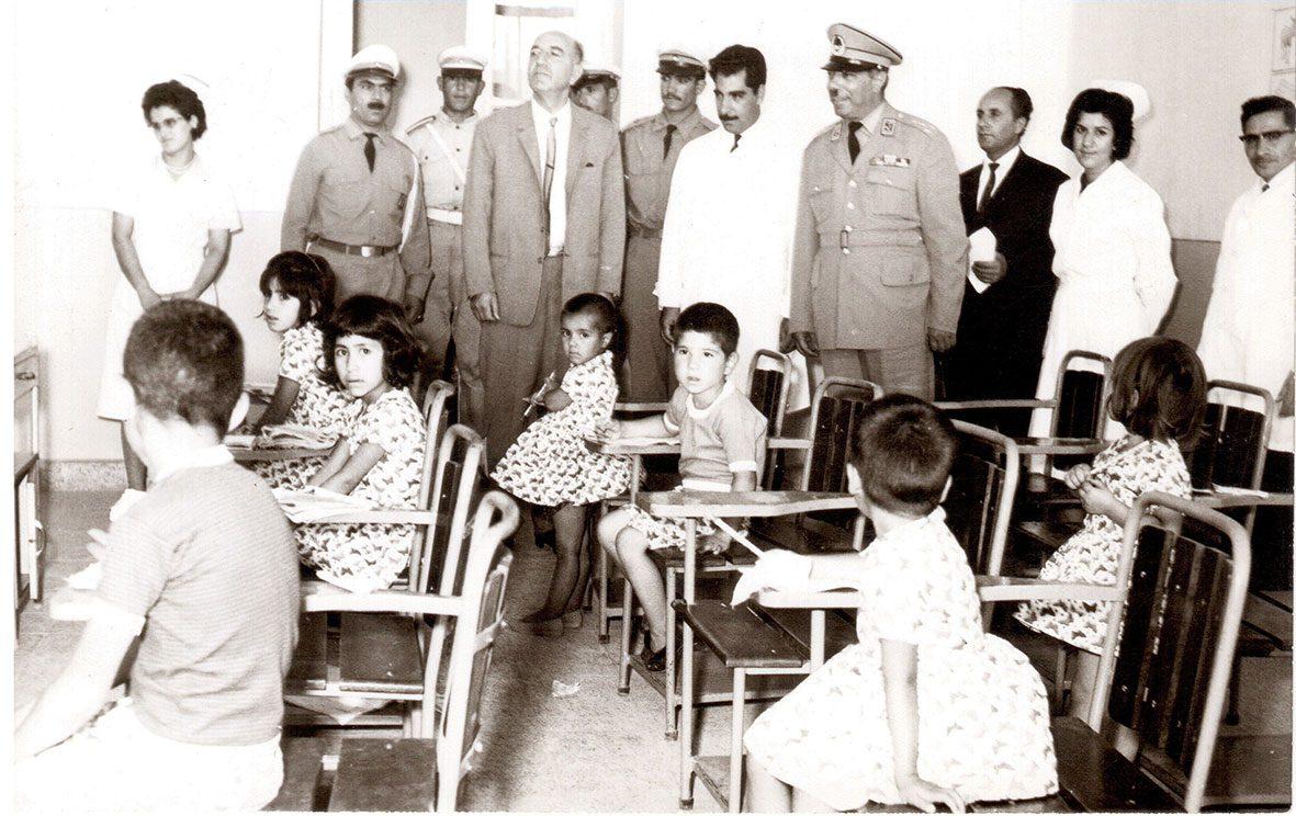 مدرسه کودکان سالم بابا باغی، ۱۳۴۳