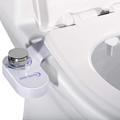 Albustar Home Bidet Self Cleaning And Retractable Nozzle Fresh Water Spray Non Electric Mechanical Bidet Toilet Seat Attachment Bidet Toilets Bidet Toliet Seats