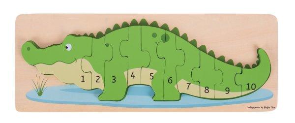 Crocodile j'apprends à compter, j'apprends les nombres