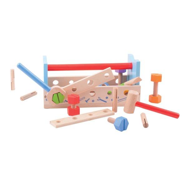 établi et boîte à outils