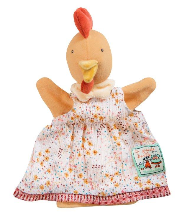 Marionnette la grand famille félicie la poule
