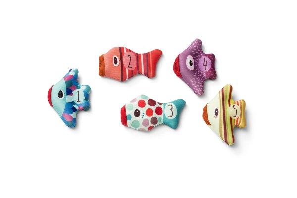 poissons marionnettes de bain