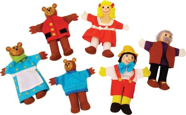 Marionnettes à doigts Boucle d'or