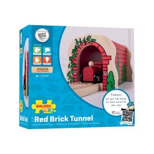 Tunnel de briques rouges