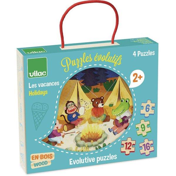 puzzle évolutif vacances
