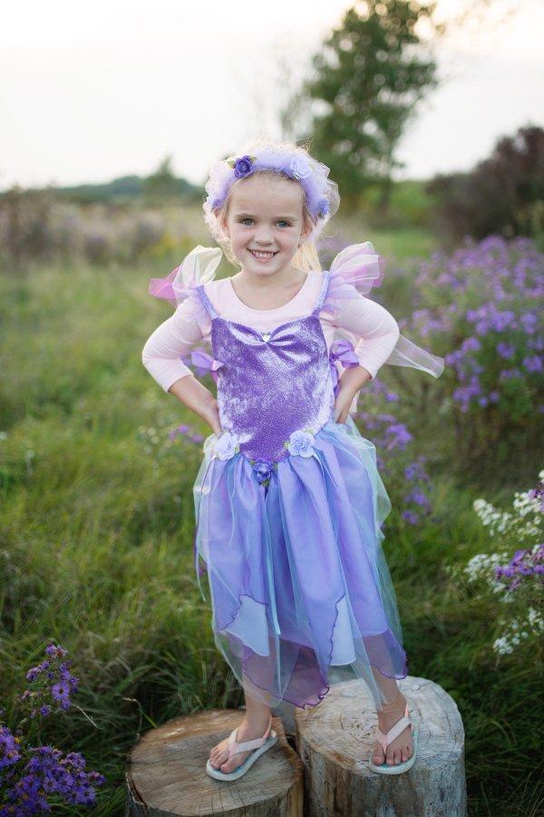 robe fée forêt lilac