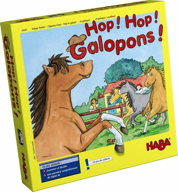 Hop ! Hop ! Galopons ! course de chevaux cheval