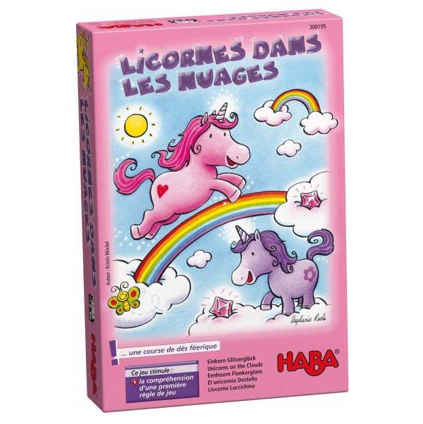 licornes dans les nuages course féérique Haba