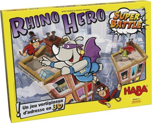 Rhino Hero Super Battle jeu d'adresse