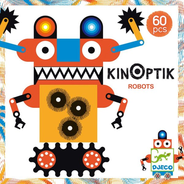 Kinoptik Robots imagination construction animation