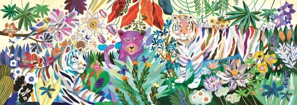 Puzzle Rainbow Tiger 1000 pièces