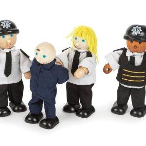 Policiers et prisonnier
