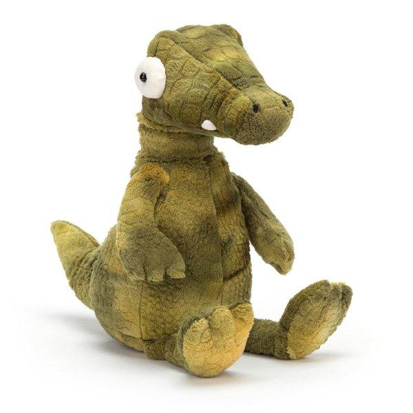 Alan l'alligator peluche reptile rigolo