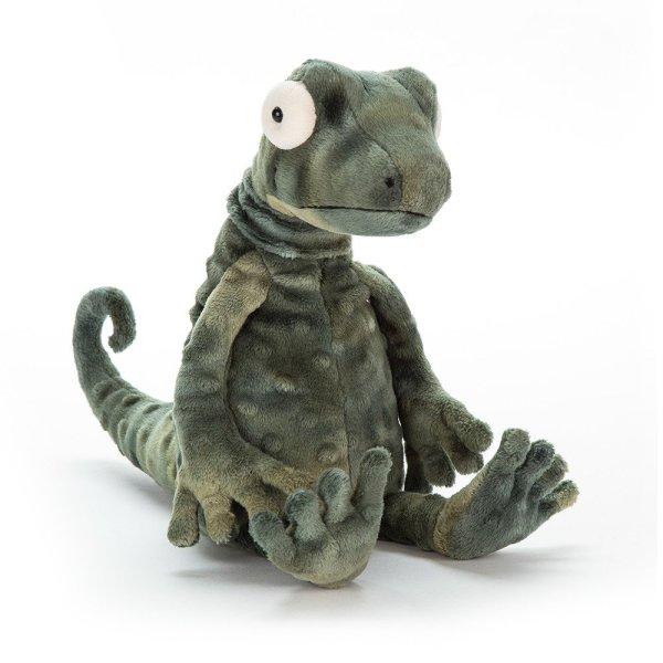 Gary le gecko peluche reptile rigolo