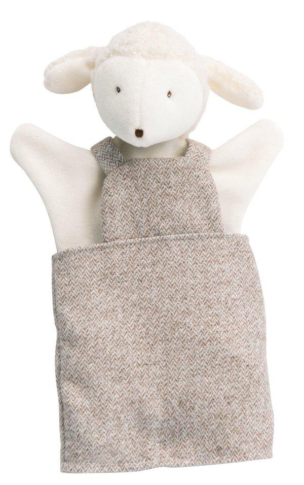 la grande famille albert le mouton marionnette