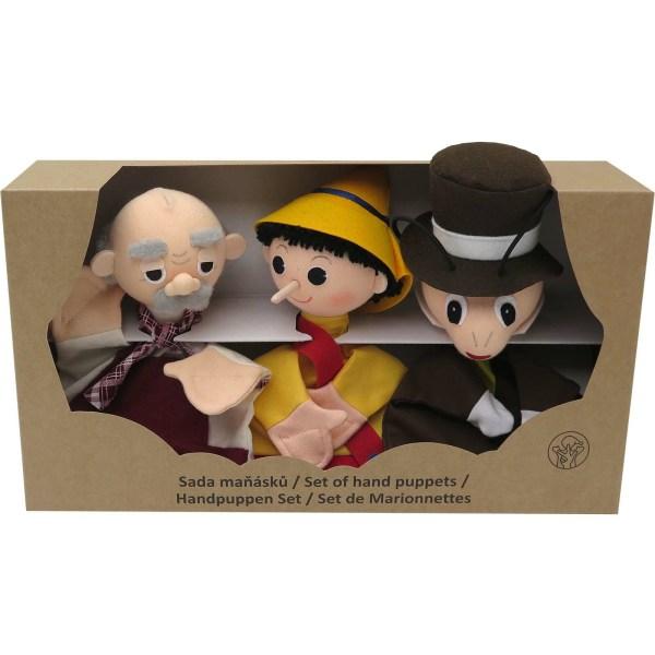 Marionnettes coffret pinocchio