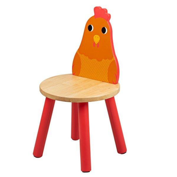 Chaise animal poule tidlo bigjigs