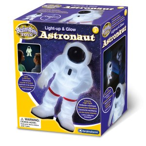 Astronaute phosphorescent