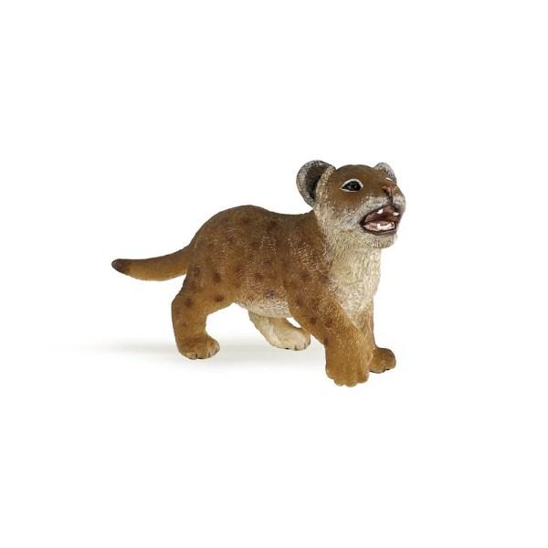 Figurine Les animaux du zoo, Lionceau, Papo, Bidiboule