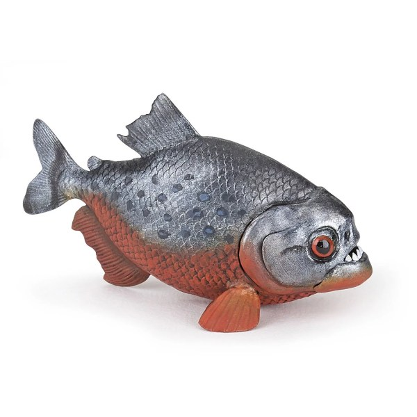 Figurine La vie sauvage, Piranha, Papo, Bidiboule