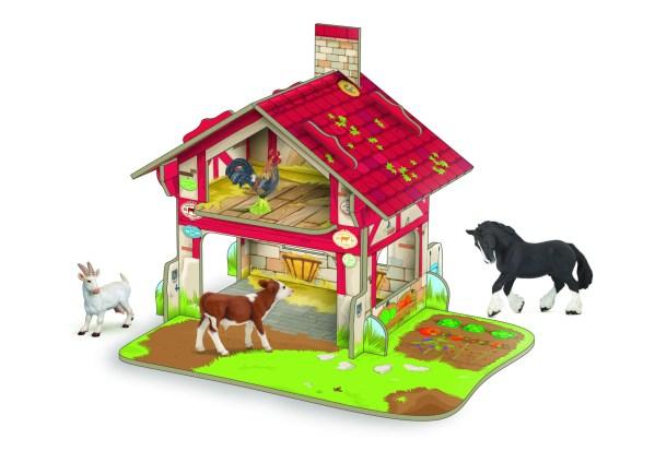 Figurines Animaux de la ferme, Mini ferme, Papo, Bidiboule