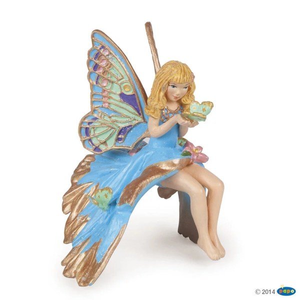 Figurines Monde enchanté, Enfant elfe bleue, Papo, Bidiboule